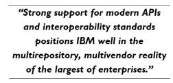 Forrester Wave ECM Business Content Quote 2